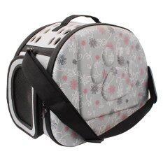 สัตว์เลี้ยง Eva กระเป๋าเดินทางกระเป๋าสะพายไหล่พับแบบพกพา Breathable กระเป๋ากลางแจ้ง - Intl By Sportschannel.