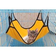 โปรโมชั่น Pet Hammock Kitten Dog Sleep Bed Yellow Intl ใน จีน