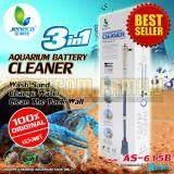 ราคา เครื่องทำความสะอาดตู้กุ้ง ตู้ปลา Portable 3In1 รุ่น As 615B รับประกัน 6 เดือน ใน กรุงเทพมหานคร