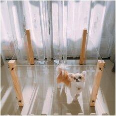 ขาย คอกไม้ใสกั้นสัตว์เลี้ยง สำหรับสุนัขพันธุ์เล็ก ออนไลน์ ใน กรุงเทพมหานคร