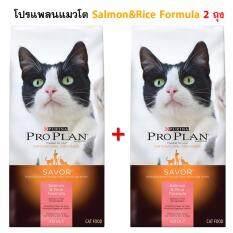 ขาย Proplan Salmon Rice แมวโต แซลมอนและข้าว ขนาด 1 59Kg 2 ถุง Proplan ถูก