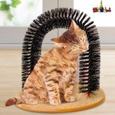 โปรโมชั่น Purrfect Arch ของเล่นแมว ใช้นวดตัวและดักจับขนแมวที่หลุดร่วง รุ่น Toycat Unbranded Generic ใหม่ล่าสุด