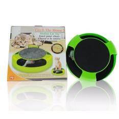 ราคา Catch The Mouse ของเล่นแมว สีเขียว ใหม่ ถูก