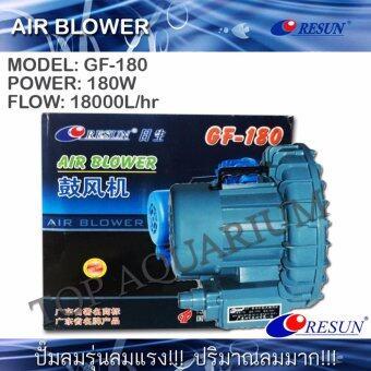 ปั๊มลม พัดลมไฟฟ้า RESUN GF-180 (180W) 18000L/hr ลมมากแรงดันน้อย