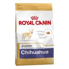 ขาย Royal Canin Chihuahua Junior 1 5Kg โรยัล คานิน สูตรลูกสุนัขพันธุ์ชิวาวา หย่านม 8 เดือน ขนาด 1 5 กิโลกรัม ถูก กรุงเทพมหานคร