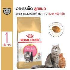 Royal Canin Kitten Persian อาหารลูกแมว สูตรลูกแมวเปอร์เซีย อายุ 4-12 เดือน ขนาด 400 กรัม