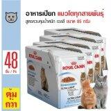 ขาย Royal Canin Light อาหารเปียกแมว ชนิดเจลลี่ สูตรควบคุมน้ำหนัก ทานง่าย สำหรับแมวโตอายุ 1 ปีขึ้นไป ขนาด 85 กรัม X 48 ซอง Royal Canin