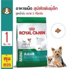 ส่วนลด Royal Canin Mini *d*lt อาหารสุนัขโตพันธุ์เล็ก สุนัขอายุ1ปีขึ้นไป ขนาด 2 กิโลกรัม