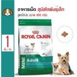 ขาย Royal Canin Mini *d*lt อาหารสุนัขโตพันธุ์เล็ก สุนัขอายุ1ปีขึ้นไป ขนาด 800 กรัม ผู้ค้าส่ง