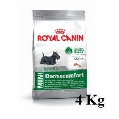 ราคา Royal Canin Mini Dermacomfort 4Kg รอยัลคานิน อาหารสำหรับสุนัขพันธุ์เล็กผิวแพ้ง่าย อายุ10เดือนขึ้นไป ขนาด 4 กิโลกรัม เป็นต้นฉบับ Royal Canin
