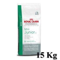 ทบทวน ที่สุด Royal Canin Mini Junior 15 Kg อาหารลูกสุนัข พันธุ์เล็ก อายุน้อยกว่า 10 เดือน ขนาด 15 กิโลกรัม