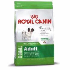 ซื้อ Royal Canin X Small *d*lt สุนัขโต พันธุ์ทอยส์ ขนาด 3Kg 2 Units ใน Thailand