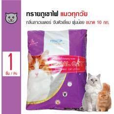 ส่วนลด Royal Cat ทรายแมวภูเขาไฟ กลิ่นลาเวนเดอร์ เก็บกลิ่นดี ฝุ่นน้อย สำหรับแมวทุกวัย ขนาด 10 กิโลกรัม Royal Cat กรุงเทพมหานคร