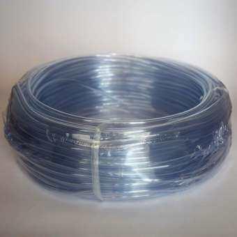 สายยางออกซิเจนคริสตัล Crystal Tube สีใส ยาว 40 เมตร สำหรับเลี้ยงปลากุ้ง-