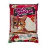 ขาย See Sand Cat Litter Apple 10 Litres X 2 Units ทรายอนามัย กลิ่นแอปเปิ้ล ขนาด 10 ลิตร จำนวน 2ถุง Pet8 เป็นต้นฉบับ