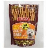 ความคิดเห็น Sleeky Chewy ขนมแท่ง สำหรับสุนัข รสแกะ ขนาดถุงละ 175กรัม 3 Units