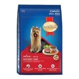 Smartheart *d*lt Small Breed Roast Beef 1 5 Kg สมาร์ทฮาร์ท อาหารสุนัขแบบเม็ด สำหรับสุนัขโตพันธุ์เล็ก รสเนื้ออบ ขนาด 1 5 กิโลกรัม จำนวน 1ถุง เป็นต้นฉบับ