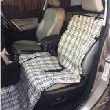 โปรโมชั่น เบาะคลุมรถยนต์สำหรับสุนัข แผ่นรองกันเปื้อนสำหรับสุนัขในรถยนต์ แผ่นรองกันเปื้อนเบาะรถยนต์สำหรับสุนัข สำหรับเบาะหน้า สีครีม ลายสก๊อต Smartshopping ใหม่ล่าสุด