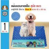 ซื้อ Sukina Petto ที่นอนเจลเย็น แผ่นรองเย็น ช่วยคลายร้อน ทนรอยขีดข่วนได้ดี สำหรับสุนัขและแมว Size M ขนาด 45X60 ซม Sukina Petto ถูก
