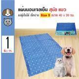 ส่วนลด สินค้า Sukina Petto Cool Mat ที่นอนเจลเย็น ช่วยคลายร้อน ทนรอยขีดข่วนได้ดี สำหรับสุนัขและแมว Size S ขนาด 30X40 ซม