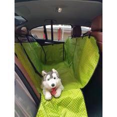 ราคา เบาะคลุมรถยนต์สำหรับสุนัข แผ่นรองกันเปื้อนสำหรับสุนัขในรถยนต์ แผ่นรองกันเปื้อนเบาะรถยนต์สำหรับสุนัข ผ้าคลุมสำหรับเบาะหลังรถเก๋ง รถ Suv ลายจุด สีเขียว ใน ไทย