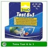 ขาย ซื้อ Tetra Test 6 In 1 สำหรับทดสองค่า Ph ไนเตรท ไนไตรท์ คาร์บอเนต คลอรีน และค่าความกระด้างของน้ำ
