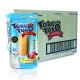 ราคา ราคาถูกที่สุด Toro Toro โทโร โทโร่ ขนมแมว แซลมอนผสมคอลลาเจน 20 G X 48 ซอง
