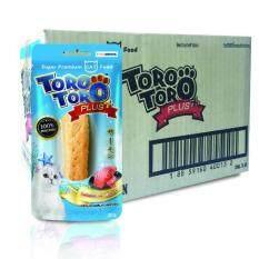 Toro Toro โทโร โทโร่ ขนมแมว แซลมอนผสมคอลลาเจน 20 G X 48 ซอง ถูก