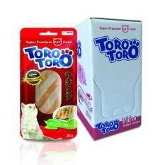 ขาย Toro Toro โทโร โทโร่ ขนมแมว ไก่ย่าง 30 G X 12 ซอง ใน ไทย