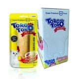 ซื้อ Toro Toro โทโร โทโร่ ขนมแมว เนื้อไก่ผสมโสมและเม็ดเก๋ากี้ 30 G X 12 ซอง Toro Toro ถูก