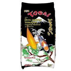 Tosai โตไซ อาหารปลาคาร์ฟสูตรเร่งโต เน้นความเงางามของเกล็ด ขนาด 9 กก เม็ด 4 ม ม ถูก