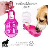 ราคา Travel Waterer ขวดน้ำสุนัขพกพา ขวดน้ำหมา 250 Ml ราคาถูกที่สุด