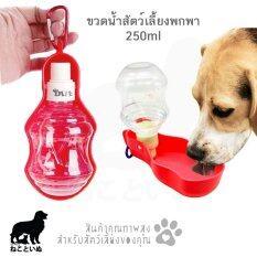 ขาย Travel Waterer ขวดน้ำสุนัขพกพา ขวดน้ำหมา 250 Ml ออนไลน์