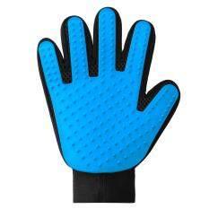 ขาย True Touch Deshedding Glove สัตว์เลี้ยงที่มีประสิทธิภาพอย่างอ่อนโยน Cat Grooming สัตว์ Right Hand Oemgenuine เป็นต้นฉบับ