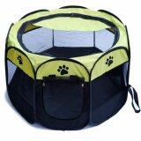 ราคา Voice กรงสุนัข กรงสนามสำหรับสุนัข รุ่น Qspt 001B Yellow Voice ออนไลน์