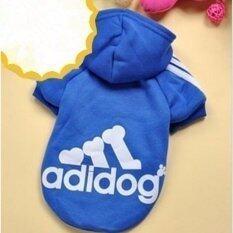 Yingwei Dog Pet Cat Sweater Hoody Coat Jacket Puppy Clothes L(dark Blue) - Intl By Ying Wei Store.