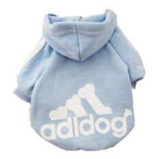 Yingwei Dog Pet Cat Sweater Hoody Coat Jacket Puppy Clothes Xxl(blue) - Intl By Ying Wei Store.