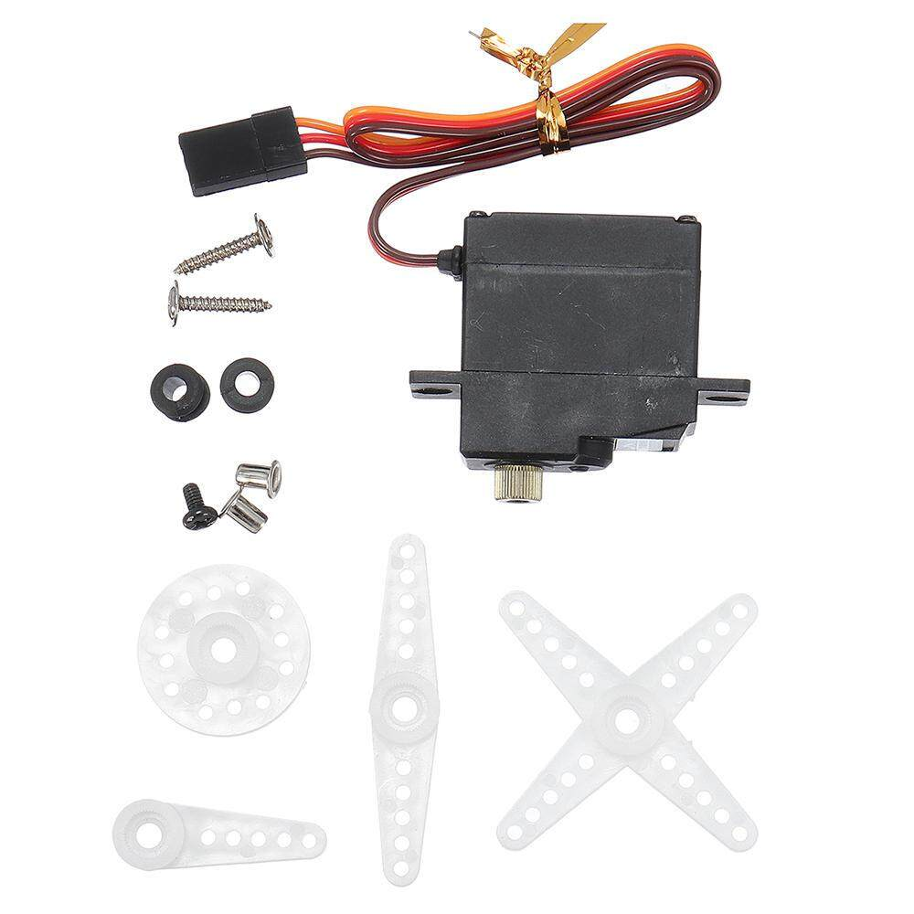 Qimiao Wpl Rc Car Truck Servo 17g 3.5kg For B1 B16 B24 C24 1/16 Rc Car By Qimiao Store.