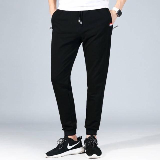[มี4สี] กางเกงขายาว กางเกง Jogger Pants เนื้อผ้า Cotton ผสม Spandex ทนทาน ใส่สบาย สำหรับทั้งชายและหญิง Urbanstyle.