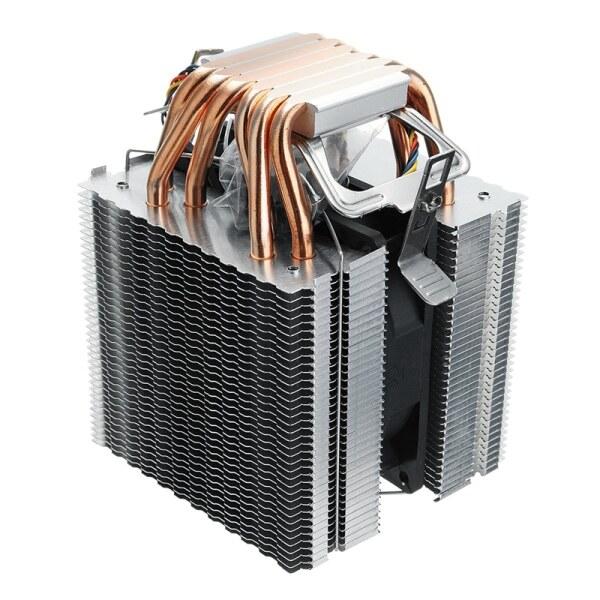 Giá 6 Heat Pipe 4 Wire Single Fan Without Light Cpu Fan Cpu Heatsink For Intel 775/1150/1155/1156/1366 For Adm All