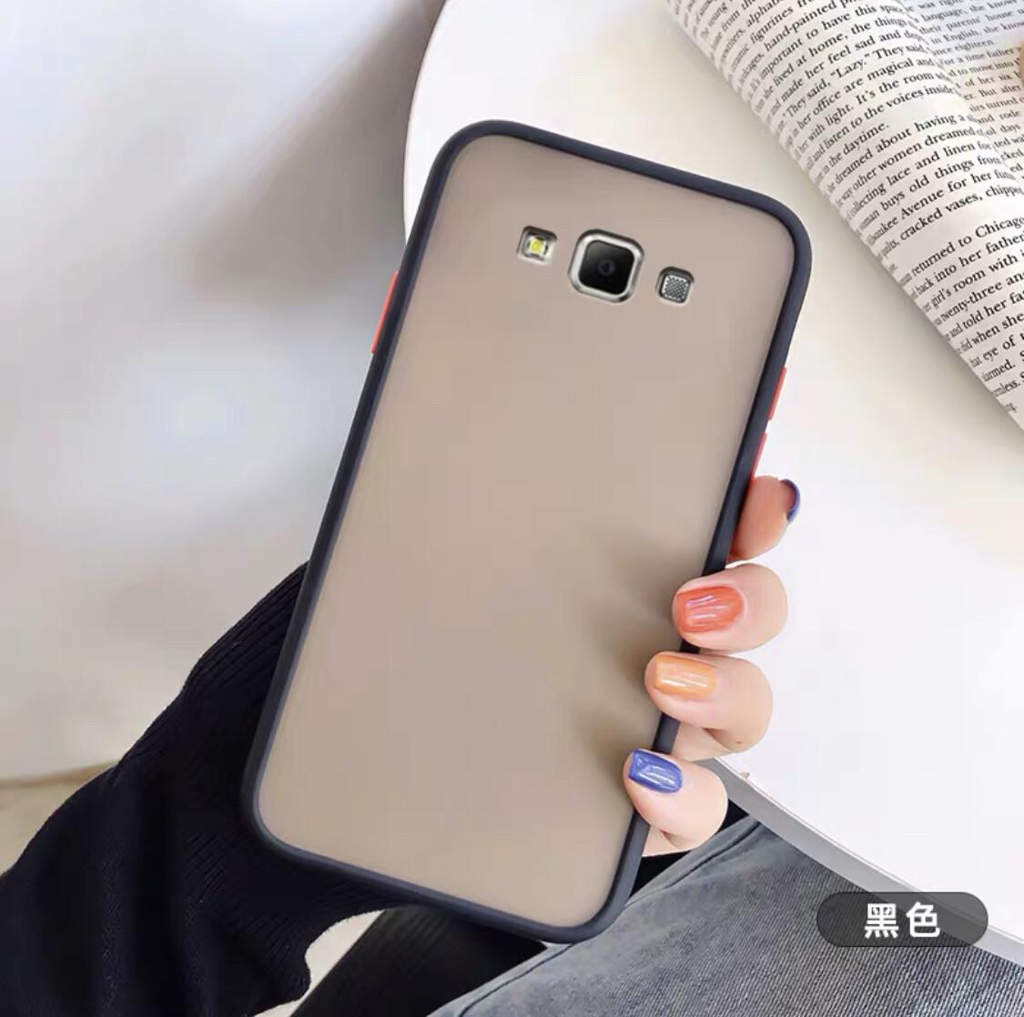 [ส่งจากไทย] เคสโทรศัพท์ซัมซุง Case Samsung Galaxy J2prime เคสกันกระแทก ปุ่มสีผิวด้าน ขอบนิ่มหลังแข็ง.