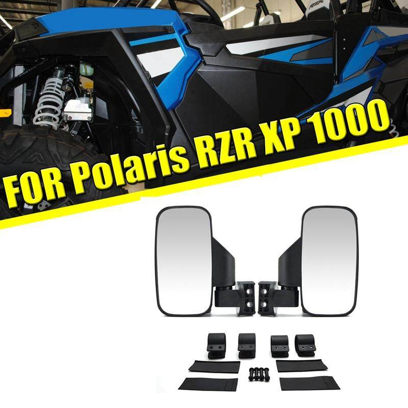 "1.75/"" UTV Wide Rear View Mirror for ROUND ROLL BAR Polaris RZR XP 4 Arctic Cat"