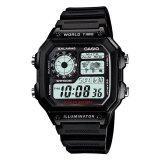 ราคา Casio Standard นาฬิกาข้อมือ รุ่น Ae 1200Wh 1A Black ใหม่