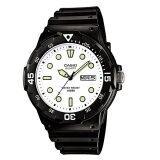 ราคา Casio Standard Watch นาฬิกาข้อมือ รุ่น Mrw 200H 7E สีดำ Casio Standard เป็นต้นฉบับ