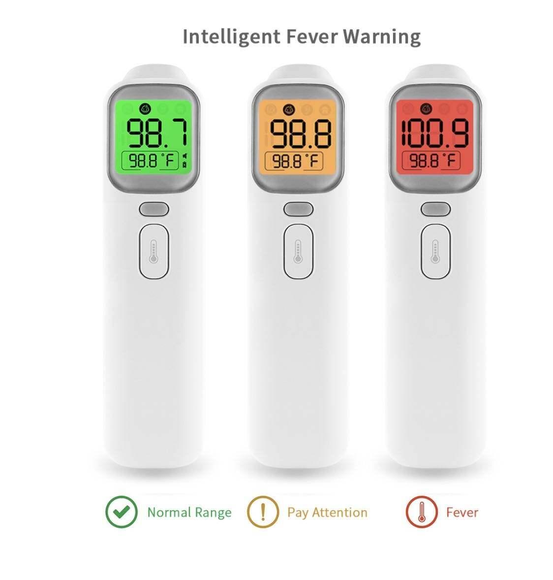 เทอร์โมมิเตอร์อินฟราเรด วัดอุณหภูมิที่หน้าผากและหู ACE+MED Infrared Thermometer 4 in 1