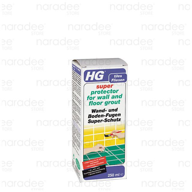เอชจี เคลือบยาแนว (HG super protector for wall and floor grout) 250 มล.