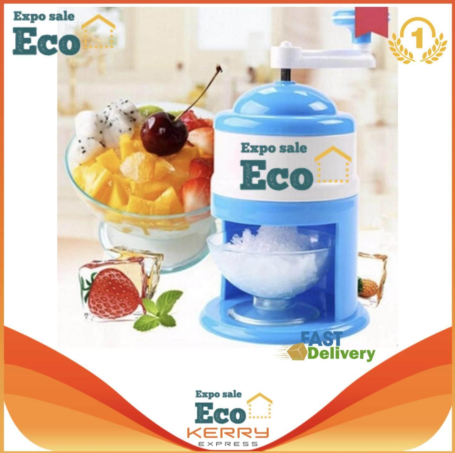 Eco Home เครื่องทำน้ำแข็งใสแบบมือหมุน