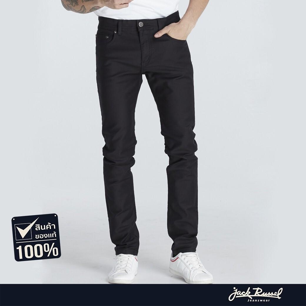 กางเกงยีนส์ Jack Russel J-5005 Skinny Fit ขาเดฟ.
