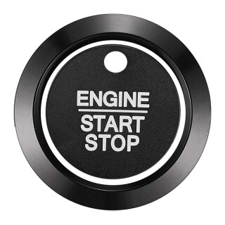 Car Engine Start Stop Button Cover Trim for Ford F-150 F150 XLT 2016-2020 Ignition Button Decor Ring Accessories thumbnail