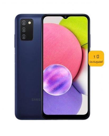 [ประกันศูนย์1ปี] โทรศัพท์มือถือ Samsung Galaxy A03s 4/64GB ของแท้ ซัมซุง ประสิทธิภาพที่เหนือกว่า A02s